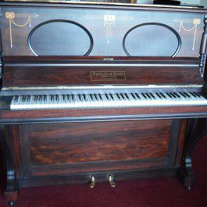 Art-nouveau Piano Phelps Of London
