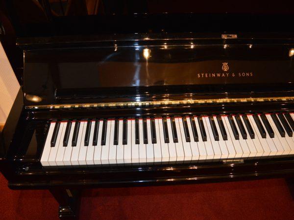Steinway Vertegrand keyboard